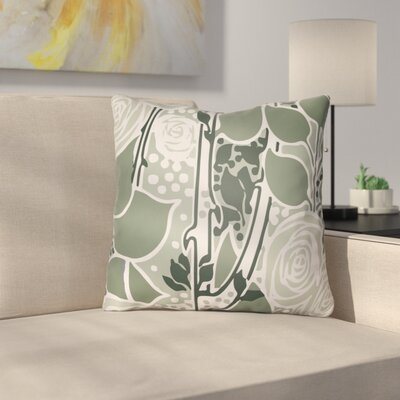 Capron Throw Pillow Size: 18 H x 18 W x 4 D, Color: Sage Green