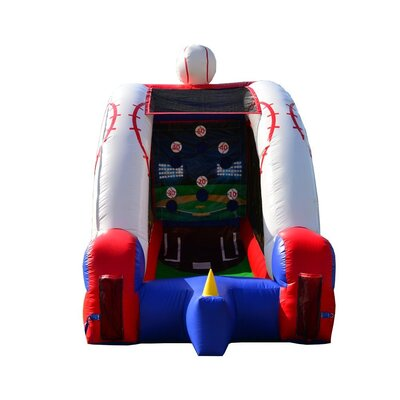 Party Inflatable Baseball Challenge Game Bounce House JC-GM12b