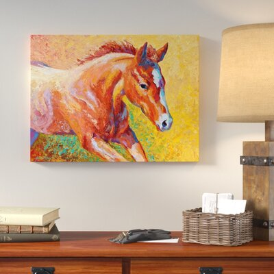 'Sorrel Filly' Print on Wrapped Canvas LNPK7400 39248506