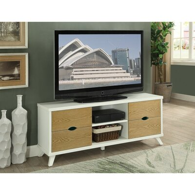 Mabery 4 Drawers and 2 Shelves Wooden 56 TV Stand
