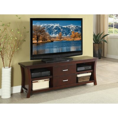 Mabie 2 Drawers and 4 Shelves Wooden 60 TV Stand