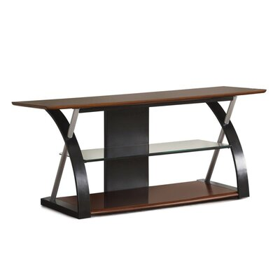 Cheung Wooden 48 TV Stand Color: Black/Brown