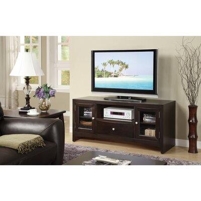 Ehrlich 1 Drawer 1 Shelf and 2 Doors Wooden 55 TV Stand