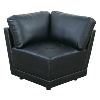 Chew Stoke Bonded Leather Corner Armchair