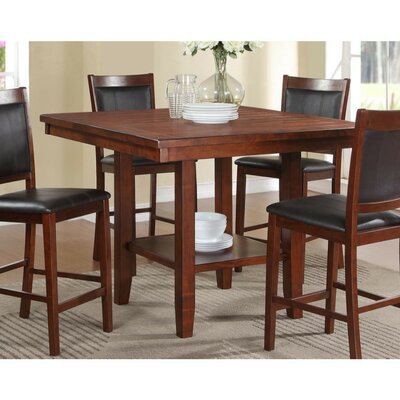 Vasios Acacia Wood Counter Height Dining Table