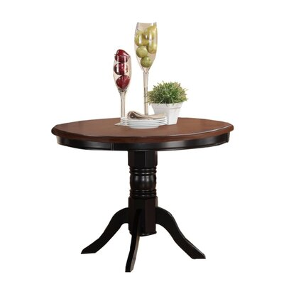 Holst Round Dining Table Base Color: Black