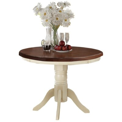 Holst Round Dining Table Base Color: Cream