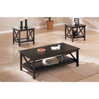 Gilligan Modish 3 Piece Coffee Table Set