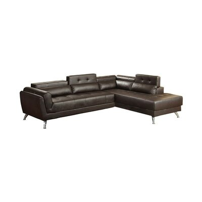 Macaulay Sectional Upholstery: Brown
