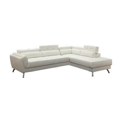Macaulay Sectional Upholstery: White
