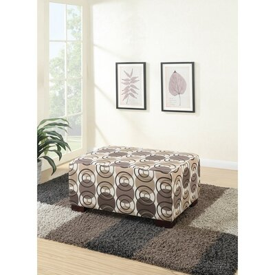 Chien Polyester Fabric Cocktail Ottoman