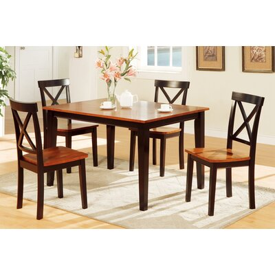 Segundo Rubberwood 5 Piece Dining Set