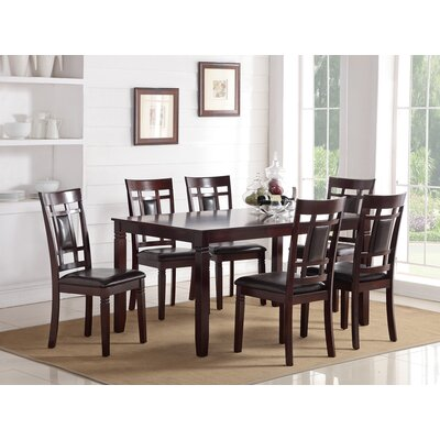 Chun Modish Rubberwood 7 Piece Dining Set