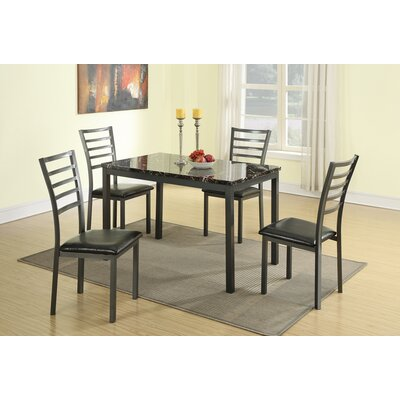 Chism Modish Feast 5 Piece Dining Set