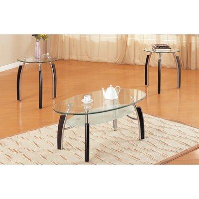 Chittum Modish 3 Piece Coffee Table Set