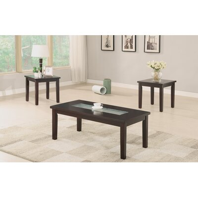 Jubb 3 Piece Coffee Table Set