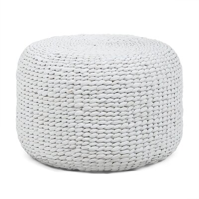 Peloquin Ottoman Color: White