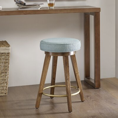Normanson 25 Backless Swivel Bar Stool