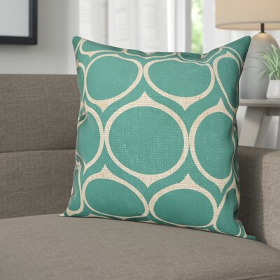 Carle Circle Throw Pillow