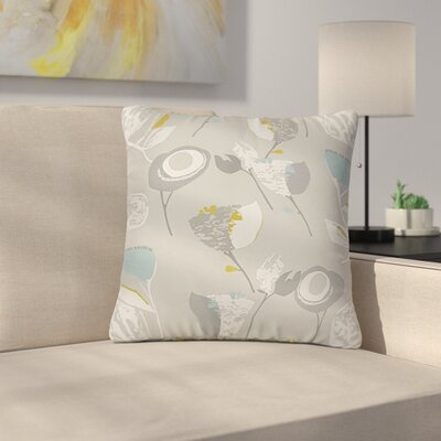 Northerly Floral Throw Pillow