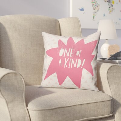 Kory One of A Kind Throw Pillow Color: Pink