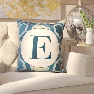 Hartig Hexagon Monogram Pillow Letter: E