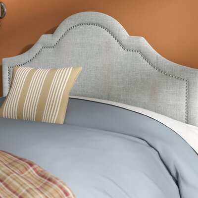 Olivet Upholstered Panel Headboard Size: King, Upholstery: Grayish Beige