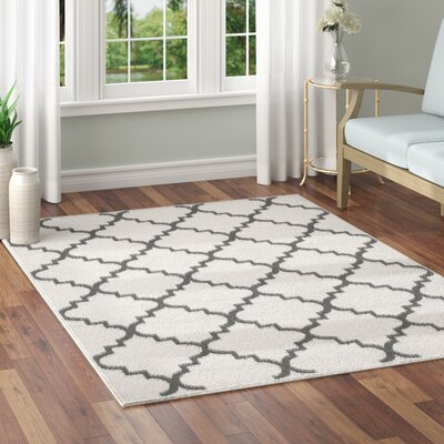 Legere Ivory Area Rug Rug Size: 5 x 7