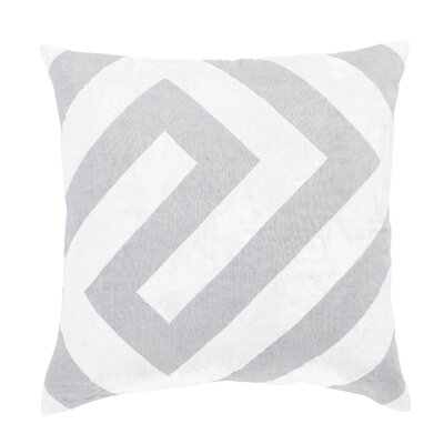 Living Hopi Geometric Linen Throw Pillow