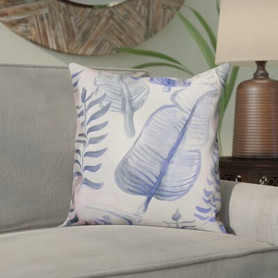 Orta Tropical Leaves Throw Pillow