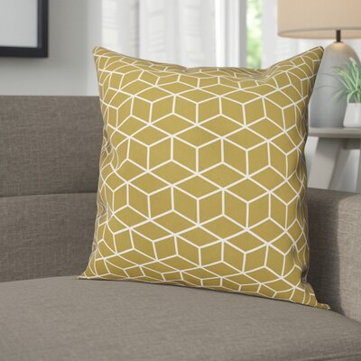 Carlucci Cubic Pattern Throw Pillow
