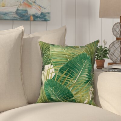 Plover Tropical View Throw Pillow