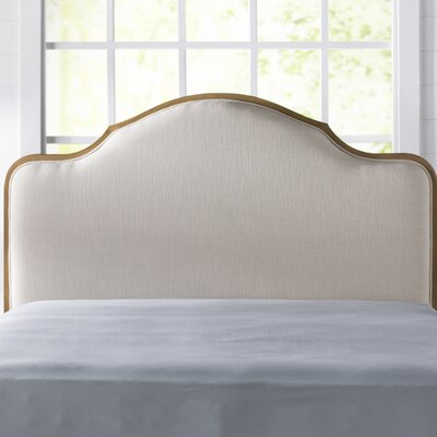 Barbery Upholstered Panel Headboard Size: California King