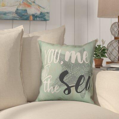 Helfer Seaside Sentiments Throw Pillow