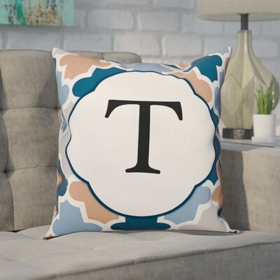 Comstock Monogram Throw Pillow Letter: T