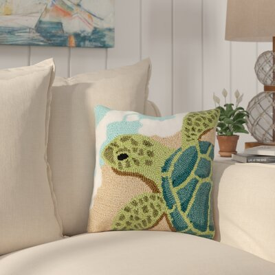 Belgrave Turtle Waves Throw Pillow