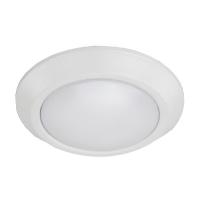 Peery Indoor/Outdoor 1-Light LED Flush Mount