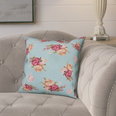 Kraemer Vintage Roses Throw Pillow
