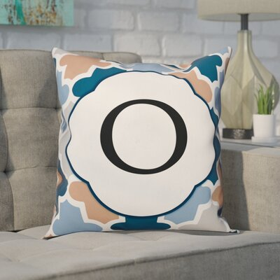 Comstock Monogram Throw Pillow Letter: O