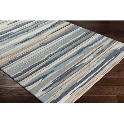 Farlow Navy/Gray Indoor/Outdoor Area Rug Rug Size: Rectangle 8 x 10