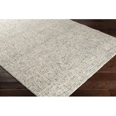 Charboneau Hand-Tufted Cream/Charcoal Area Rug Rug Size: Rectangle 2 x 3