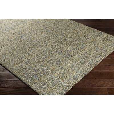 Charboneau Hand-Tufted Moss Green/Light Blue Area Rug Rug Size: Rectangle 8 x 10