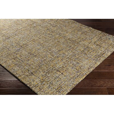Charboneau Hand-Tufted Yellow/Brown Area Rug Rug Size: Rectangle 2 x 3