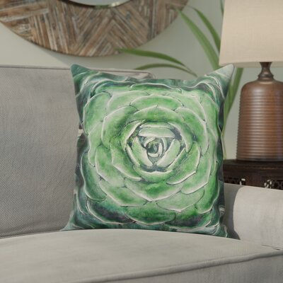 Orsini Succulent Throw Pillow