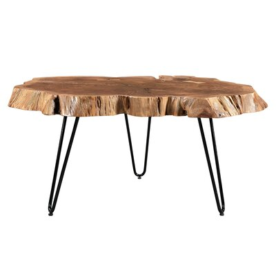 Etchison Acasia Wood Coffee Table Finish: Natural