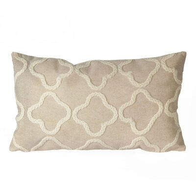 Hugo Crochet Tile Indoor/Outdoor Lumbar Pillow
