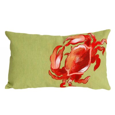 Eichler Crab Indoor/Outdoor Lumbar Pillow