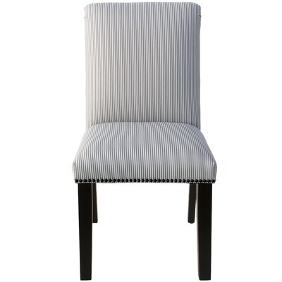 Demar Nail Button Upholstered Dining Chair