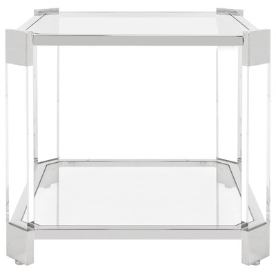 Juliette Glass End Table
