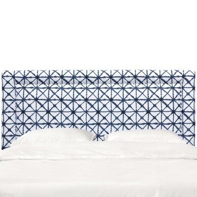 Doyon Border Upholstered Panel Headboard Size: King